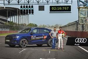 Audi RS Q8 sets SUV lap record at BIC, MMRT, Kari Motor Speedway