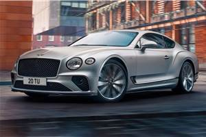 2021 Bentley Continental GT Speed revealed