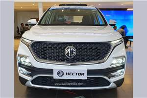Over 50,000 MG Hector SUVs sold in 21 months