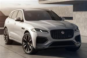 Jaguar F-Pace facelift bookings commence