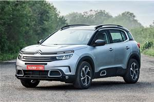 Citroen C5 Aircross launched at Rs 29.90 lakh