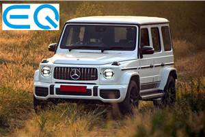 Mercedes EQG likely to arrive in two versions