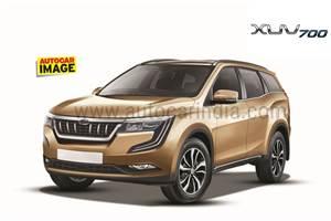 Mahindra W601 SUV to be named XUV700