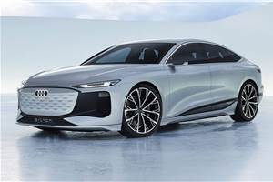 Audi A6 e-tron concept previews new luxury EV sedan for 2023