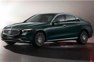 Mercedes Benz C-Class long wheelbase debuts at Shanghai Motor Show
