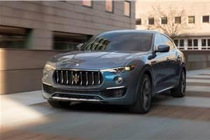 Maserati unveils Levante hybrid