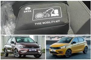 Tata Tiago, Tigor get tyre repair kit, tyre pressure monitor