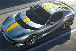 Ferrari 812 Competizione, 812 Competizione A unveiled