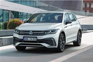 2021 Volkswagen Tiguan Allspace facelift revealed