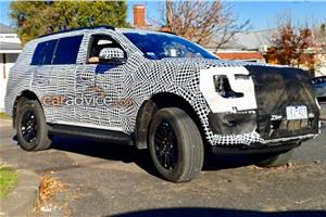 Next-gen Ford Endeavour: first spy pictures