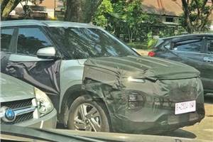 Hyundai Creta facelift in the works