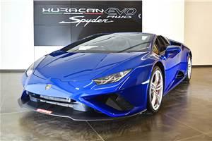Lamborghini Huracan Evo RWD Spyder launched at Rs 3.54 crore