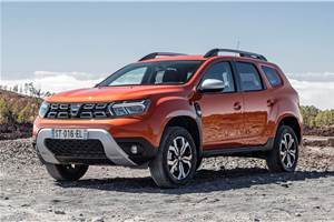 Updated Dacia Duster revealed