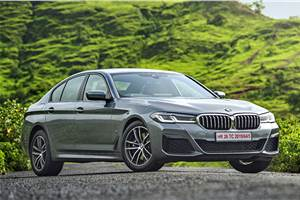 BMW 5 Series facelift launched at Rs 62.90 lakh