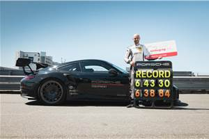 Porsche 911 GT2 RS breaks Nurburgring lap record