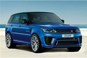 2021 Range Rover Sport SVR launched at Rs 2.19 crore