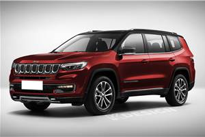 Jeep H6 7-seat SUV to be called Meridian in India