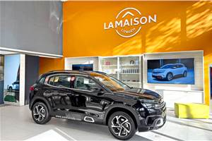 Citroen C5 Aircross home deliveries commence in India