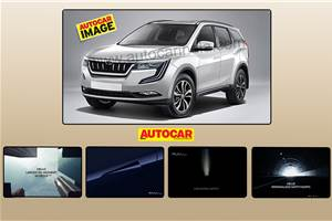 Mahindra XUV700 features partially revealed
