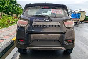 Production-spec Mahindra eKUV100 EV spied ahead of 2022 launch
