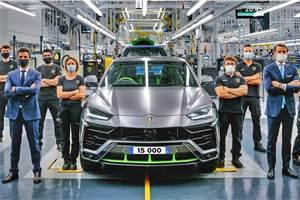 Lamborghini Urus production crosses 15,000 units in 3 years