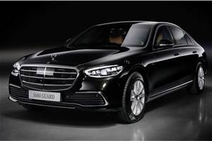 New Mercedes-Benz S 680 Guard with V12 unveiled