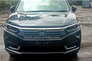 Honda Amaze facelift: first images surface ahead of August 18 launch