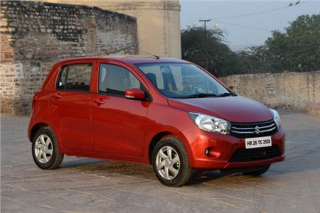 New Maruti Celerio review photo gallery