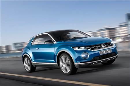 Geneva 2014: Volkswagen T-Roc SUV concept photo gallery