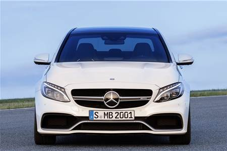 New Mercedes-AMG C63 photo gallery