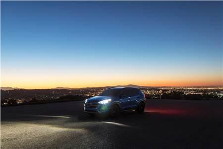 Hyundai Tucson Night edition image gallery
