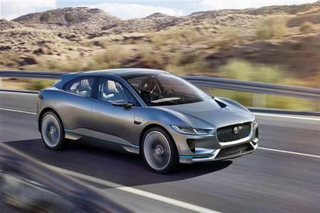 Jaguar I-Pace concept image gallery