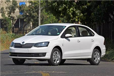 Skoda Rapid facelift image gallery