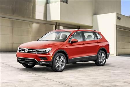 2017 Volkswagen Tiguan Allspace image gallery
