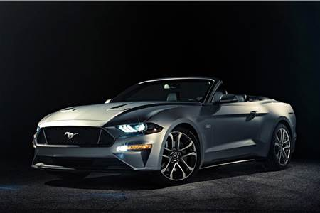 2018 Ford Mustang Convertible image gallery