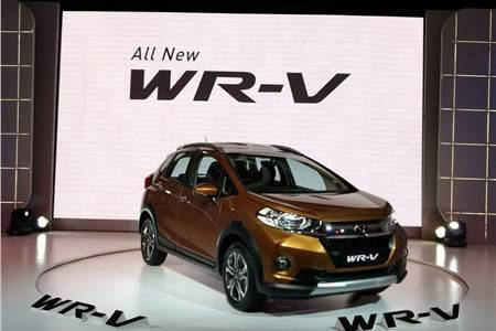 2017 Honda WR-V image gallery