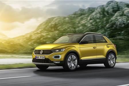 2017 Volkswagen T-Roc image gallery