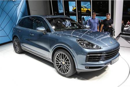 New Porsche Cayenne Turbo image gallery