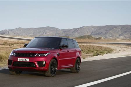 2018 Range Rover Sport facelift image gallery