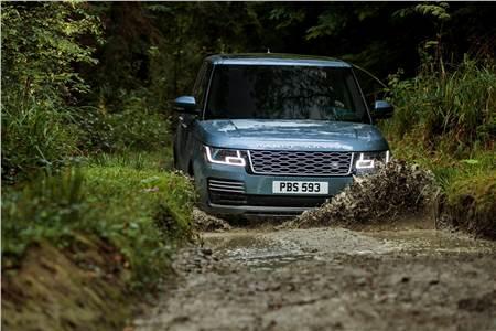 Range Rover facelift, P400e image gallery