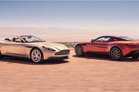 New Aston Martin DB11 Volante image gallery