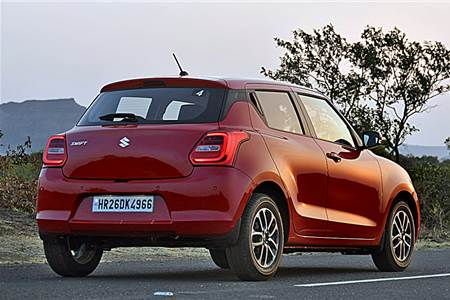 2018 Maruti Swift image gallery