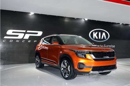 Kia SP SUV concept image gallery