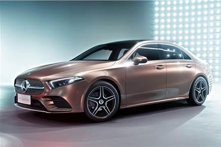 2018 Mercedes-Benz A-class sedan image gallery