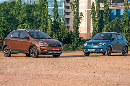 2018 Ford Freestyle vs Maruti Ignis image gallery