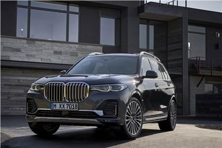 2019 BMW X7 image gallery