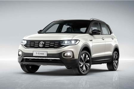 India-bound Volkswagen T-Cross image gallery