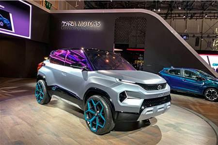Tata H2X concept image gallery