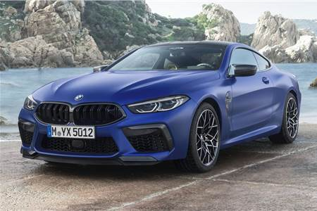 BMW M8 Competition Coupe image gallery