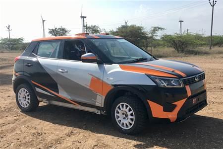 Rally-prepped Mahindra XUV300 image gallery